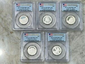 2012-S 90% Silver Quarter Proof Set PCGS - PR70DCAM - America The Beautiful