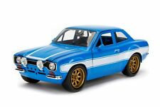 Jada 1:24 Display Fast & Furious Brian's 1974 Ford Escort MK1 Diecast Car 99572