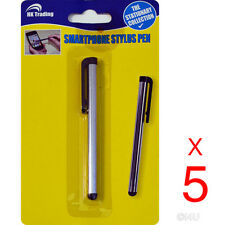 5x UNIVERSAL CAPACITIVE STYLUS PEN TOUCH SCREEN MOBILE SMARTPHONE TABLETS IPHONE