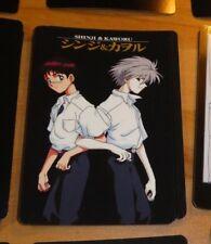 NEON GENESIS EVANGELION VENDING PP CARDDASS CARD CARTE NO 22 JAPAN 1996 NM