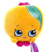 Shopkins 'Peachy' 8 Inch Plush Soft Toy Brand New Gift