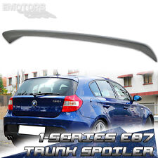 NEW BMW 1-SERIES E81 3DR E87 5DR HATCHBACK A TYPE TRUNK SPOILER 123d 118d 118i