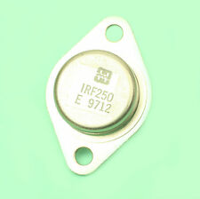 Transistor de puissance IRF250 MOSFET canal N HARRIS 30A 200V 150W boitier TO3
