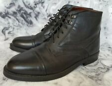 Mens Sherwood Black Leather Uppers Boots Size 9