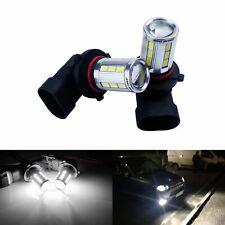 2x HB3 9005 6000K Ampoules 21SMD LED Voiture Feu de position brouillard lumière