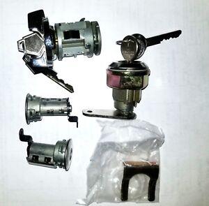 Lock Set Cuda 73-74 Trunk Ignition Door W/ Correct E-Body Pawl BARRACUDA MOPAR