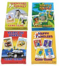 + CartaMundi Four Traditional Kids Card Games Farmyard Donkey Snap Jungle 70,16
