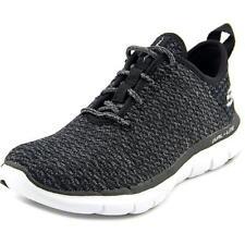 Zapatillas deportivas de mujer de tacón bajo (menos de 2,5 cm) de color principal negro talla 38