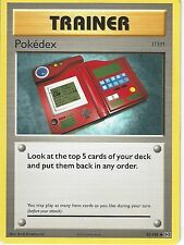 POKEMON XY EVOLUTIONS CARD - POKEDEX 82/108