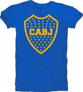 Boca Juniors Argentina Mens Unisex Tee T Shirt Soccer Football Sudadera Xeneize