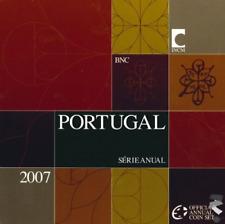 Portugal zeer zeldzame BU-set 2007 met 8 euromunten