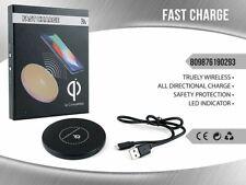 Base Di Ricarica Wireless Fast Charge Pad Qi 2A Per Smartphone 0282 mar