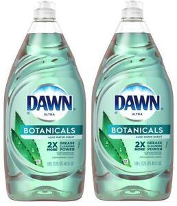 (Pack of 2) Dawn Botanicals Aloe Water Scent Dishwashing Liquid 40 fl. oz.