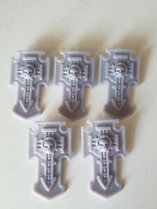 5x Storm Shields 40k Compatible With Primaris Space Marines