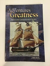 ADVENTURES IN GREATNESS Abeka Homeschool (6th Grade Speed & Comp Reader)