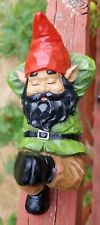 """New listing #SoilBrothers 9.5"""" Black/African Sleeping Gnome"""