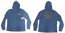 Polo Ralph Lauren Denim & Supply Mens Ralphs Chop Shop Moto Blue Hoodie Sweater