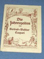 Die Jahreszeiten Gertrud + Walther Caspari um 1910