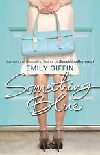 Something Blue, Giffin, Emily, Very Good Book