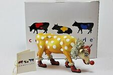 Cow Parade Can't Have a Parade Without a Clown 9128 Stamford 2000 Retired Box