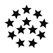 2-1/2 Inch Small Metal Barn Star Country Crafts, Home and Garden Decor Set of 12