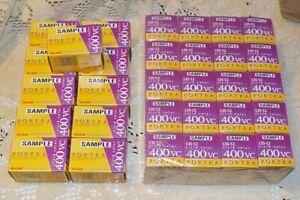 Kodak Professional Portra 400VC 135-12 Film 30 rolls Expired 2002 New sealed