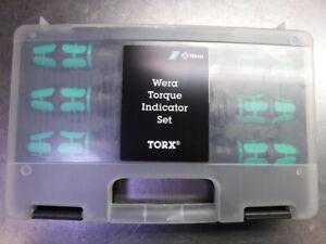 Wera 300 TORX Torque Indicator Set 6-Peice Set 05027940001 (LOC2698C)