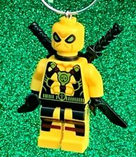 RARE Custom Lego Yellow Deadpool Mini Figure Minifigure Christmas Tree Ornament