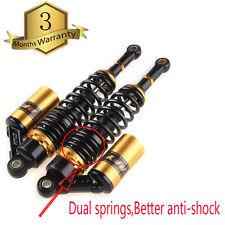 "360mm 14"" Motorcycle Air Shock Absorber Rear Suspension Spring Damper Universal"
