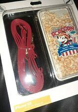 New Rare Disney Parks D-tech iphone XR case Mickey main Street Popcorn Company