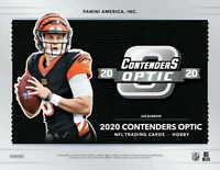 2020 Panini NFL Contenders Optic Football Hobby Box (Factory Sealed) Presale