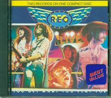 Reo Speedwagon - You Get What You Play For Live 2 Records On 1 Cd Eccellente