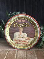 Vintage Coca Cola Tray Drink Coca Cola 75th Anniversary