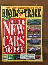 Road and Track Magazine Oct.1995, Honda Civic EX Coupe, BMW 318ti, Corvette GS