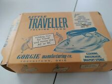 Vintage Gorgie Little Traveller Folding Iron NEW OLD STOCK