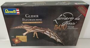 Revell 1/8 Leonardo Da Vinci Glider Wooden Model Kit