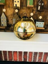 Pottery Barn Ornament Candle Pot Gold Size Large Sold Out Christmas Candlepot