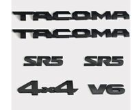 6PCS 2016-2020 TOYOTA TACOMA ROAD EMBLEM Emblem Decal Badge Nameplate OEM