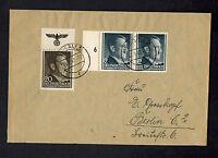 1943 Krakow Poland Germany GG cover to Berlin