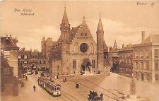 B93700 den haag ridderzaal tramway tram  netherlands