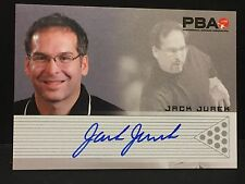 JACK JUREK  2008 Rittenhouse PBA Bowling AUTOGRAPH On Card Pack Pulled AUTO Card