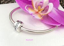 Pandora Shining Path Clip Charm, Bracelet Bead, Brand New, #791972CZ