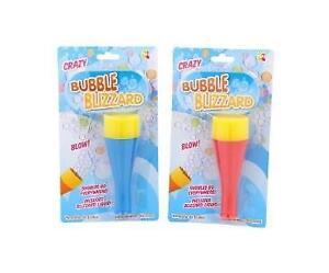 Crazy Bubbles Blizzard Kit with Bubble Liquid Stocking Filler Children's Gift