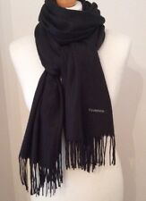Black Super Soft Cashmere Scarf