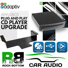 Retrofit Add on CD Player for Vehicles Without a CD Mech USB Direct Plug & Play