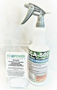 ECA 500 Hospital Grade Disinfectant, For Your Home, EPA Approved Kill 99.99996%