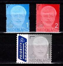 Nederland 2019 3809-3811 Koning Willem-Alexander gestanst