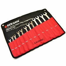 Metric combination spanner set extra long 8mm - 19mm 12pc by BERGEN AT602