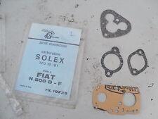 FIAT 500 D - F / SERIE GUARNIZIONI CARBURATORE SOLEX / carburetor gasket