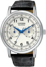 Men's Citizen Eco-Drive Day And Date Dress Watch AO9000-06B NEW IN BOX